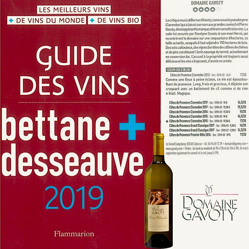 GUIDE BETTANE ET DESSEAUVE 2019